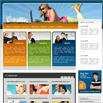 Static & Dynamic Website Design